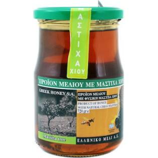 Ελληνικό Μέλι Μέλι Ανθέων με Μαστίχα Χίου 720gr