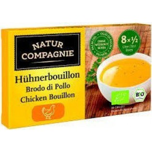 Natur Compagnie Κύβοι Μαγειρικής Κοτόπουλου 80gr