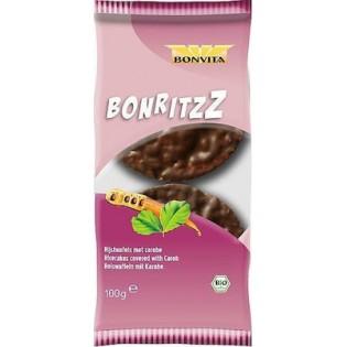 Bonvita Ρυζογκοφρέτες με Xαρούπι 100gr