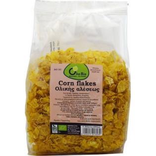 Όλα Bio Corn flakes (ολικής αλέσεως χωρίς ζάχαρη) 250gr