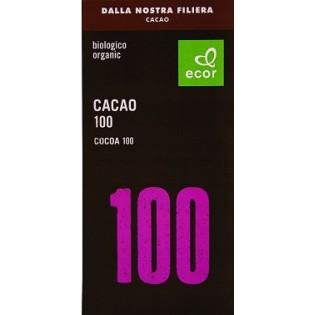 Ecor Σοκολάτα Μαίρη 100% 80gr ΒΙΟ