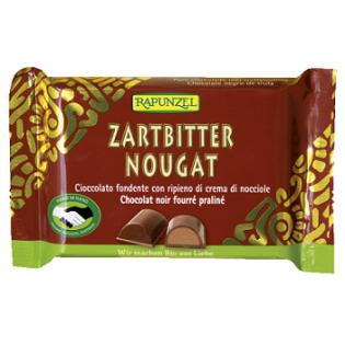 Rapunzel Σοκολάτα Γάλακτος Νουγκάτ 100γρ