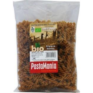 Pastamania Μακαρόνια Βίδες(Στριφτό) Ολικής Άλεσης ΒΙΟ 500γρ