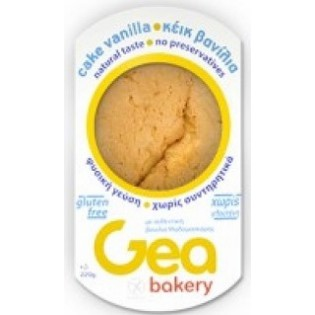 Gea Bakery Κέικ Βανίλια Μαδαγασκάρης Χωρίς Γλουτένη 220gr