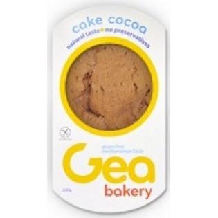 Gea Bakery Κέικ Κακάο Χωρίς Γλουτένη 220gr