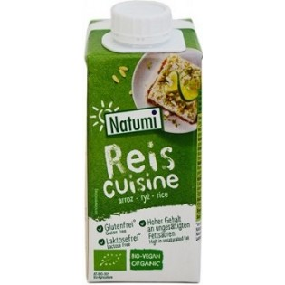 Natumi Κρέμα Μαγειρικής Ρυζιού Χωρίς Γλουτένη 200ml BIO