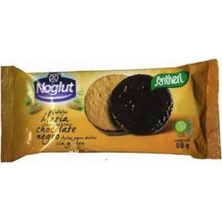Santiveri Μπισκότα Με Μαύρη Σοκολάτα Χωρίς Γλουτένη Maria 80gr