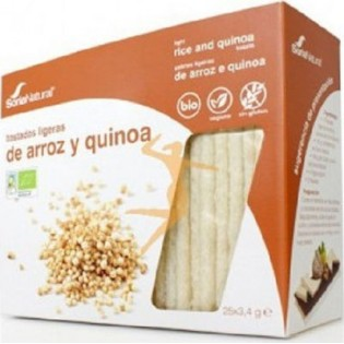 Soria Natural Κράκερς Ρυζιού-Κινόα Χωρίς Γλουτένη 85gr