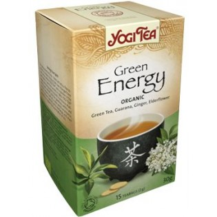 YOGI TEA GREEN ENERGY (πράσινη ενέργεια για τόνωση)  17 φακ.